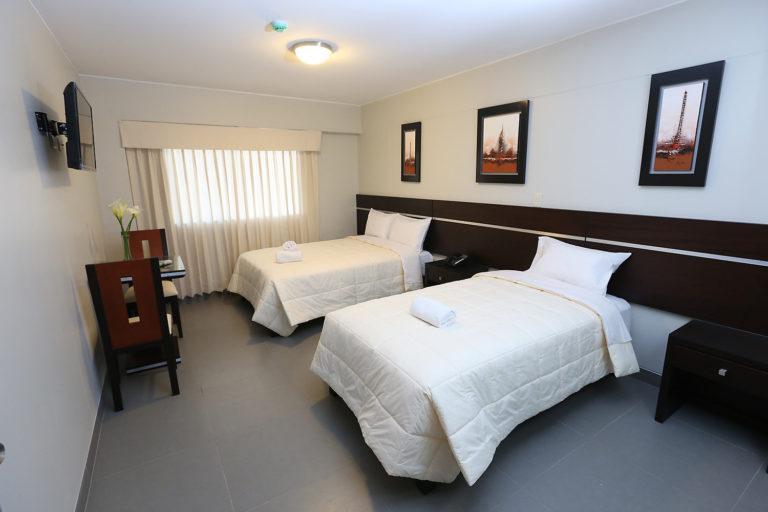 Habitación Doble de Hotel Mariategui