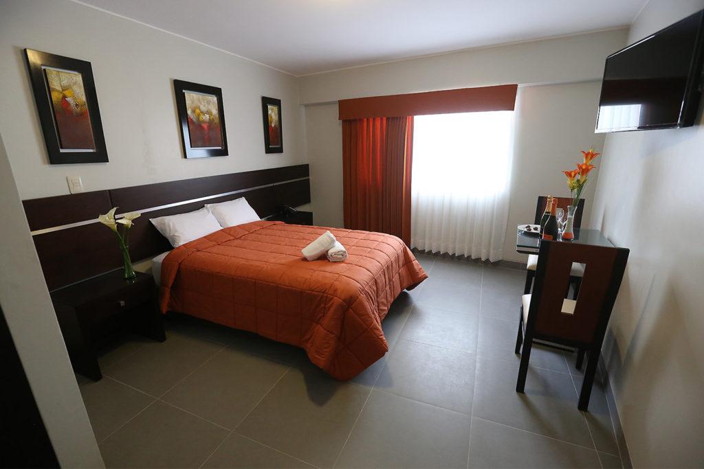 Habitación Estándar de hotel Mariategui